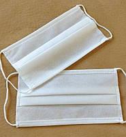Защитные маски трехслойные 50 шт в упаковке, фото 1