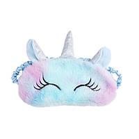 Маска для сна Silenta Единорог (11) - синие ушки