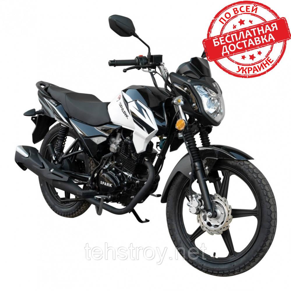 Мотоцикл SPARK SP150R-13 (красный,черный,синий) +Доставка бесплатно