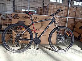 """Велосипед горный Azimut Spark 26"""" GFRD, рама 20"""", черно-красный"""