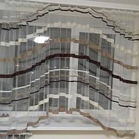 Короткая гардина аркой 4 метра для кухни.Подарок для дома