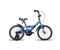 Велосипед 16 Flash сине-черный