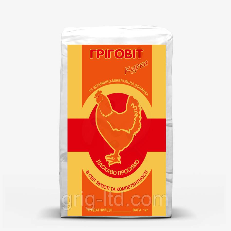 Премикс Григовит 1 % для кур-несушек ПКН