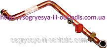 Трубка лат. теплообміну.- клап. 3 хід (б.ф.у, EU) Baxi Eco, Luna, Western Energy, Star, артикул 5653240, к. з.0278