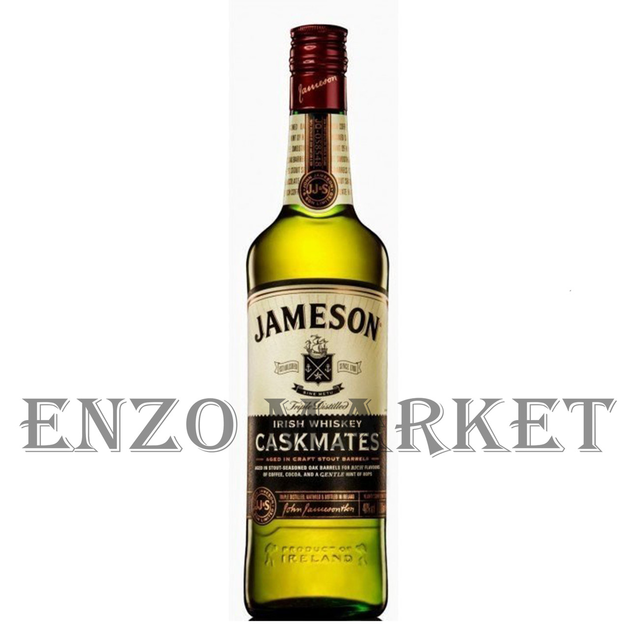 Виски Jameson Caskmates (Джемесон Каскмейтс) 40%, 0,7 литра