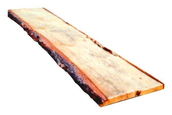 Доска необрезная (шалевка) 25*150*4000 мм