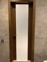 Двери МИЛАНО-2 ПО Полотно+коробка+1 к-кт наличников, шпон, фото 3