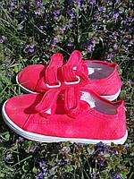 Макасины на двух липучках для девочки размер 31, 32, фото 1