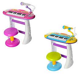 Детский синтезатор Пианино со стульчиком BB383BD