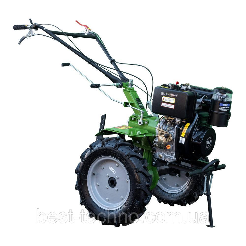Мотоблок дизельный Кентавр МБ2012Д-4