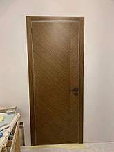 Двери FUSION F-44 Полотно+коробка+2 к-та наличников+добор 90мм, шпон, фото 3