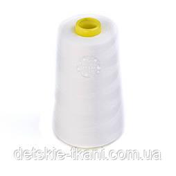 Нитки швейные 40/2, 4000 ярдов, цвета айвори (1001)