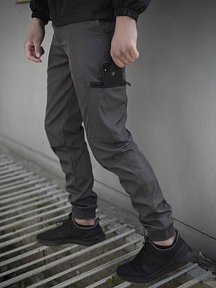 """Мужские штаны серые Intruder """"Softshell Light"""", фото 3"""