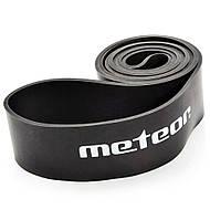 Тренажер-эспандер ленточный Meteor Rubber Band, extra heavy, нагрузка 37-45 кг, черный, фото 1