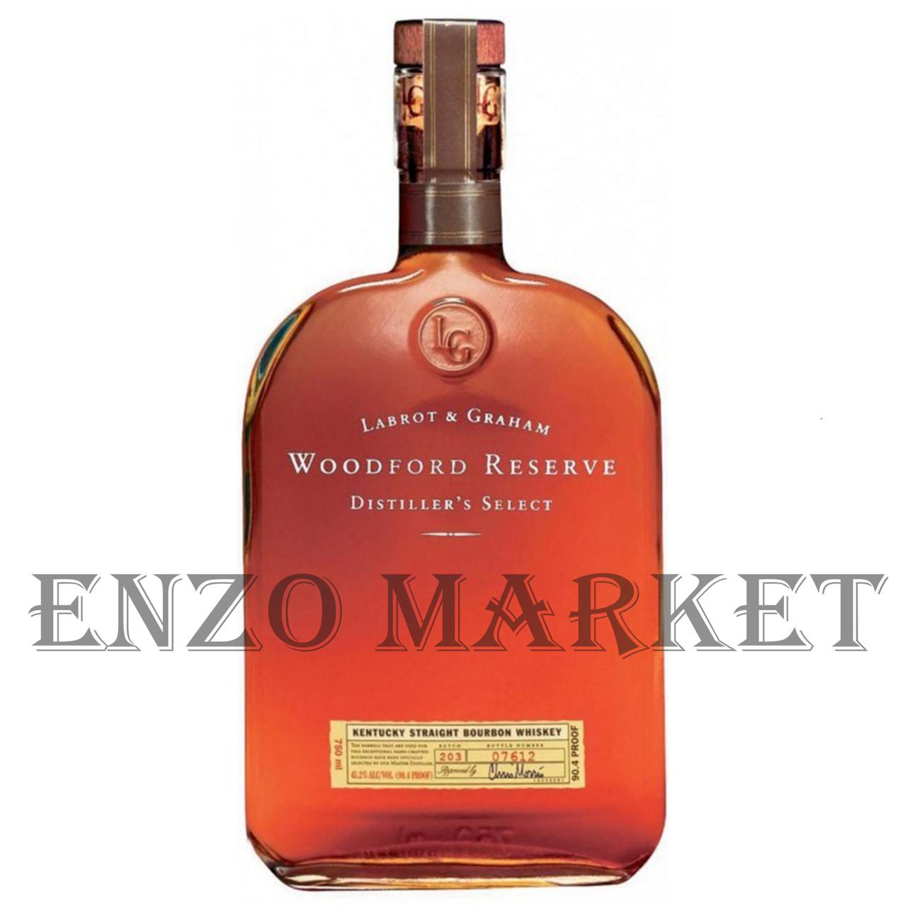 Виски Woodford Reserve (Вудфорд Резерв) 43.2%, 0.7 литр