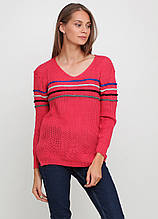 Малиновый свитер пуловер Massimo Артикул: 143948400 О товаре Доставка