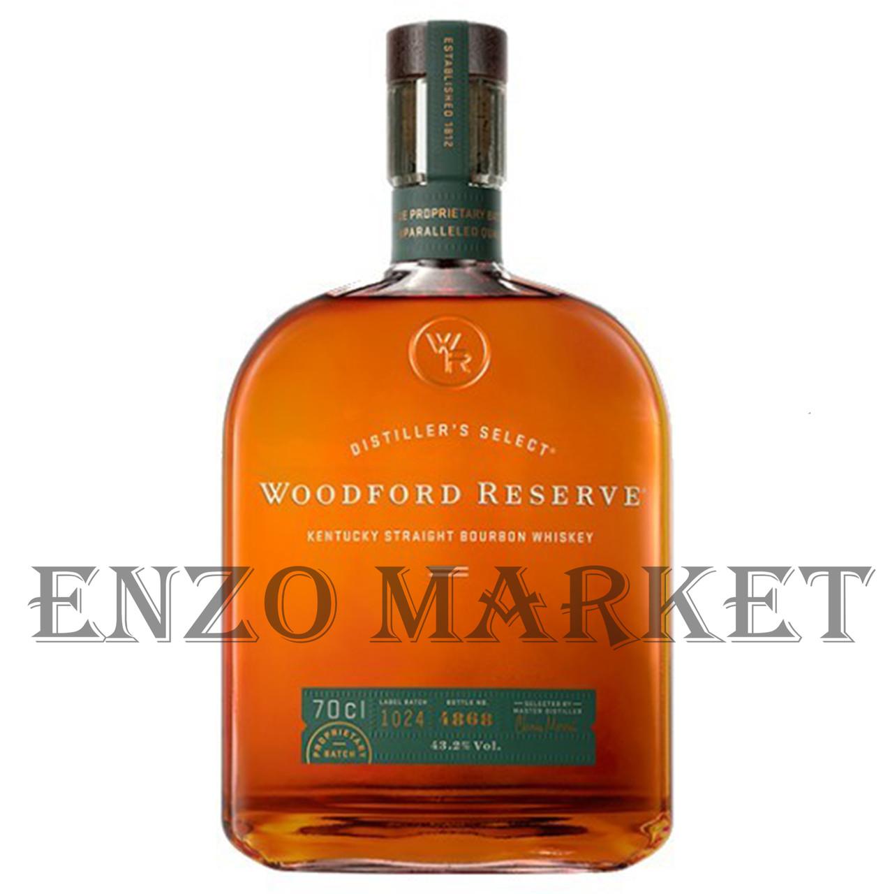 Виски Woodford Reserve RYE (Вудфорд Резерв Рей) 45.2%, 1 литр