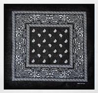 Классическая бандана 55*55 см черный