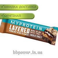 Протеиновый батончик MyProtein Layered 60 г