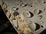 """Бетонний стіл-плита для вуличного каміна, барбекю """"Сицилія"""" з фасадом, фото 6"""