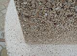 """Бетонний стіл-плита для вуличного каміна, барбекю """"Сицилія"""" з фасадом, фото 7"""