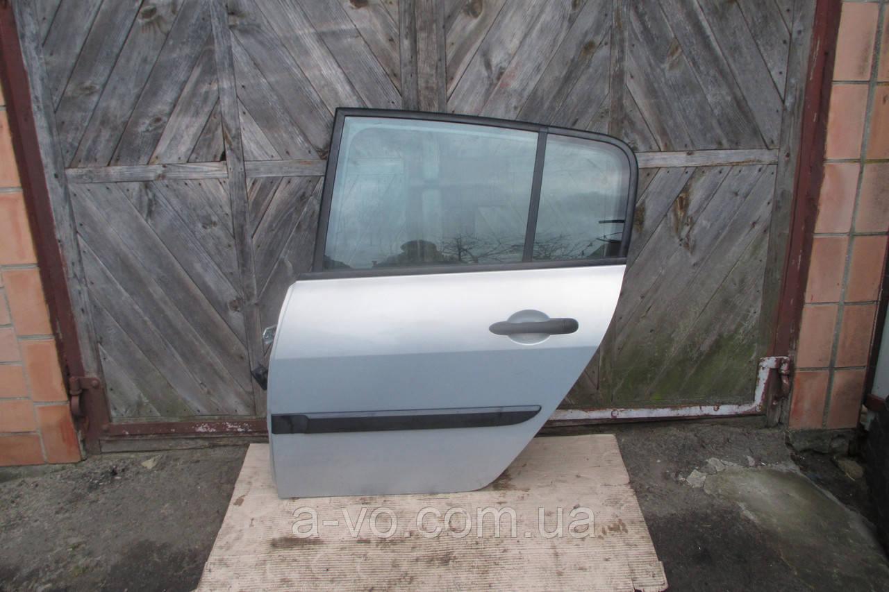 Дверь задняя левая для Renault Megane 2 Хетчбек , Седан , 2002-2009
