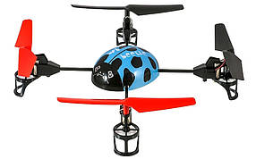 Квадрокоптер для полётов на улице и дома WL Toys V929 Beetle синий
