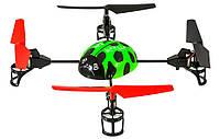 Квадрокоптер для полётов на улице и дома WL Toys V929 Beetle зелений
