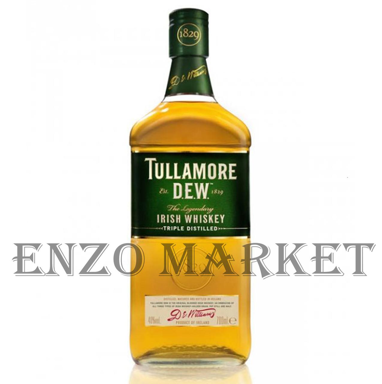 Виски Tullamore Dew (Тюлламор Дью) 40%, 1 литр