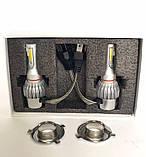 Комплект LED ламп, Лампы для авто, Комплект автомобильных LED ламп MHZ C6 H4, фото 2