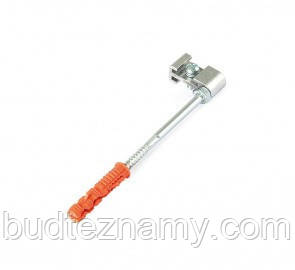 Гачок хомута труби металевий - 250 мм, BRYZA.