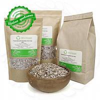 Хлопья из чернобровой пшеницы 0,5 кг сертифицированные без ГМО цельнозерновые