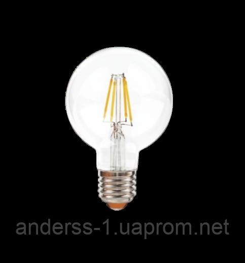 Светодиодная лампа EGE LED Filament 6W G80