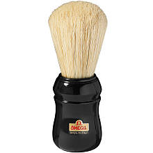 Большой помазок для бритья Omega Professionale 10049 черный
