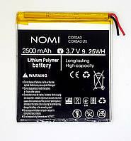 Оригинальная аккумуляторная батарея Nomi Corsa 3 C070010 C070020 C070011 C070012 C070030 новые.