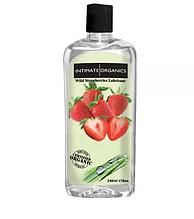 """Интимная смазка на водной основе для орального и вагинального секса """"Organics"""" Клубника 240 mg"""