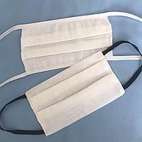 Захисні маски (не медичні), багаторазові, чотирьохшарові, 100% ХБ (натуральна тканина), від 12грн.шт