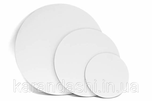 Полотно на ДВП, кругле, Ø15 см, бавовна, акрил, ROSA Studio GPA1831D15, фото 2