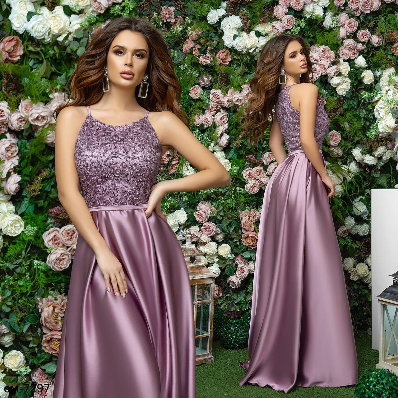 Женское шикарное вечернее платье макси для выпускного вечера Разные цвета