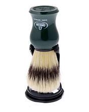 Помазок для бритья с подставкой Omega 80265 зеленый