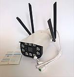 Уличная IP, 3G\4G WIFI камера видеонаблюдения UKC CAD 3120 2 mp  Беспроводная, фото 2