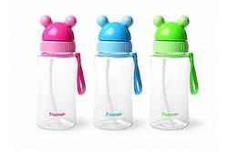 Бутылка детская пластиковая для воды Fissman 370 мл 6846