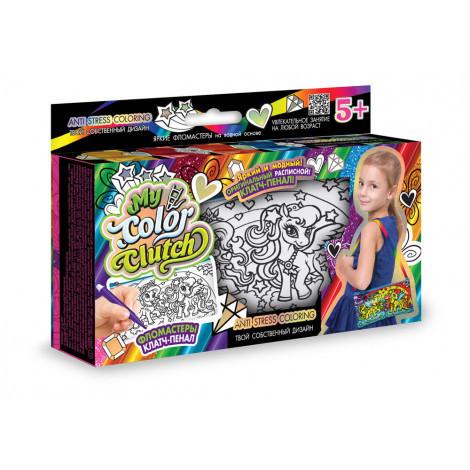 Набір креативної творчості Danko Toys My Color Clutch клатч пенал розмальовка в асортименті (ДТ-ОО-09106)