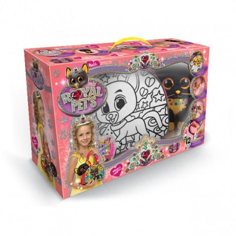 Набір креативної творчості Danko Toys Royal Pet's сумочка  розмальовка в асортименті (ДТ-ОО-09126)