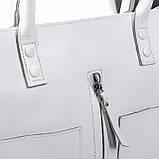 Большая женская классическая кожаная сумка, фото 2