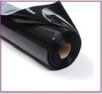 Пленка 110 мкм черная 6*50 м для мульчирования и строительства