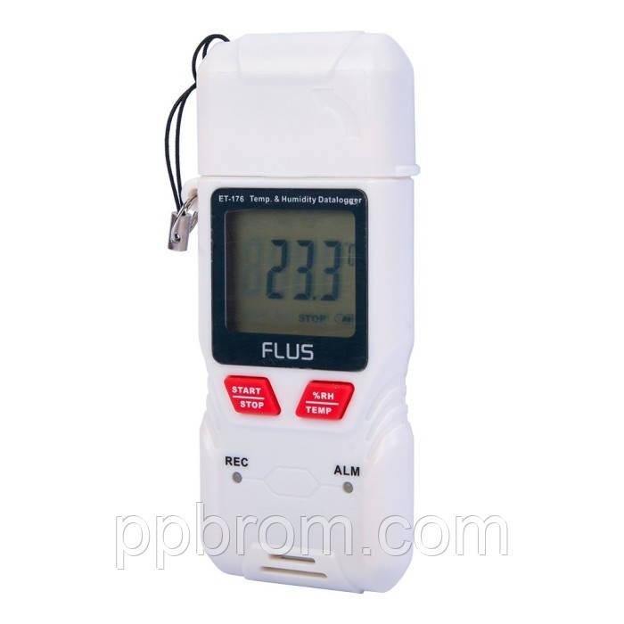 """Регистратор температуры и влажности (дата-логгер) Flus """"ET-176"""""""