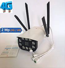 Уличная IP, 3G\4G WIFI камера видеонаблюдения UKC CAD 3120 2 mp  Беспроводная