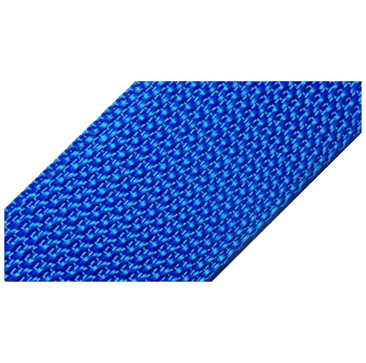 Лента ременная 100% Полипропилен 40мм цв синий (боб 50м) р 2534 Укр-з