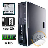 Компьютер HP 8000 (Core2Quad Q9300/4Gb/ssd 120Gb) desktop БУ